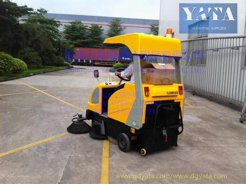 佛山华乐金属驾驶式扫地机应用