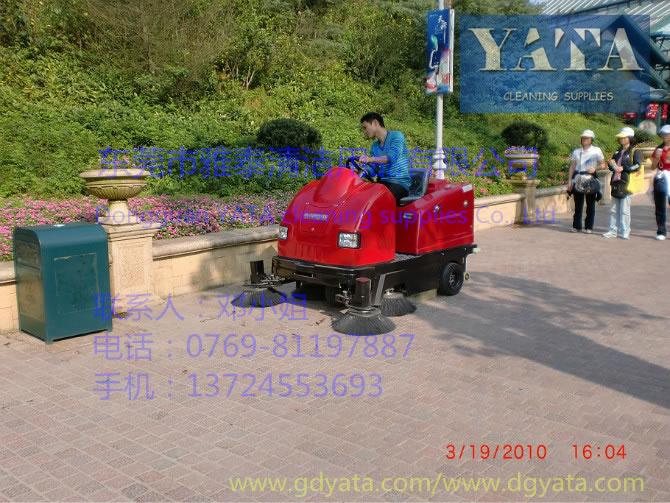 深圳东部华侨城驾驶式扫地车应用